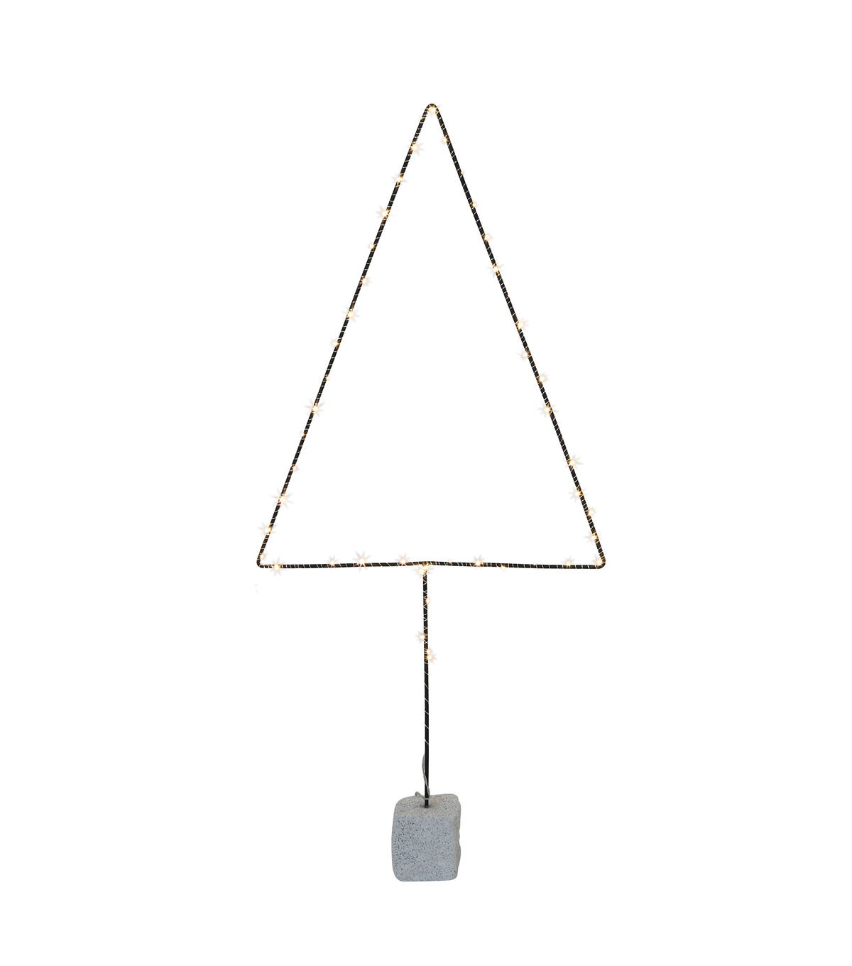 3R Studios Christmas Tree Shape Decor with 50 LED Lights