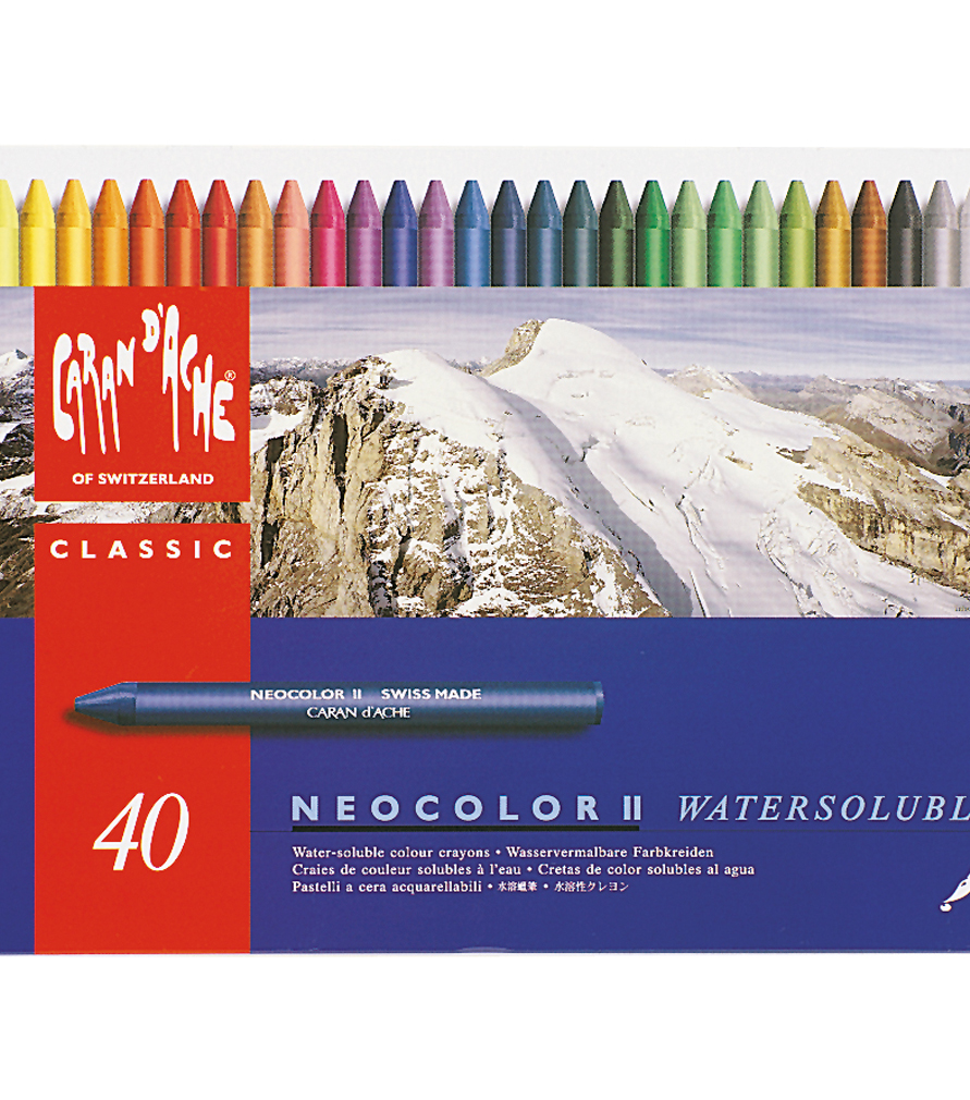 Caran D\u0027Ache NeoColor II Water Soluble Wax Pastel Set