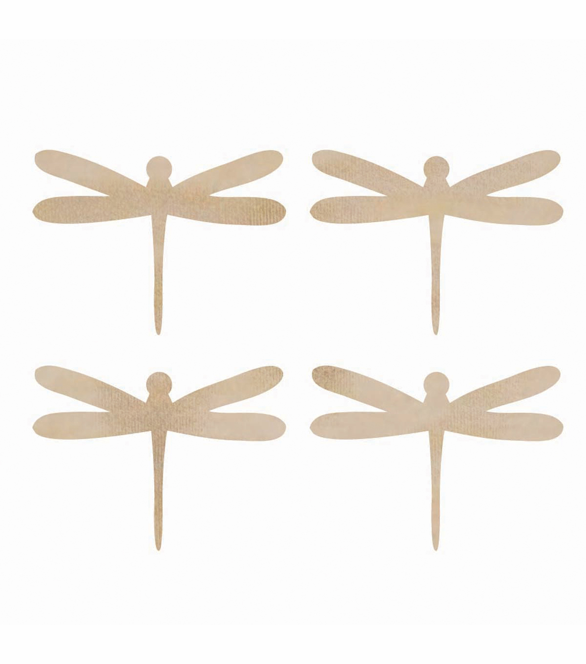 Kaisercraft Wood Flourishes Dragonflies