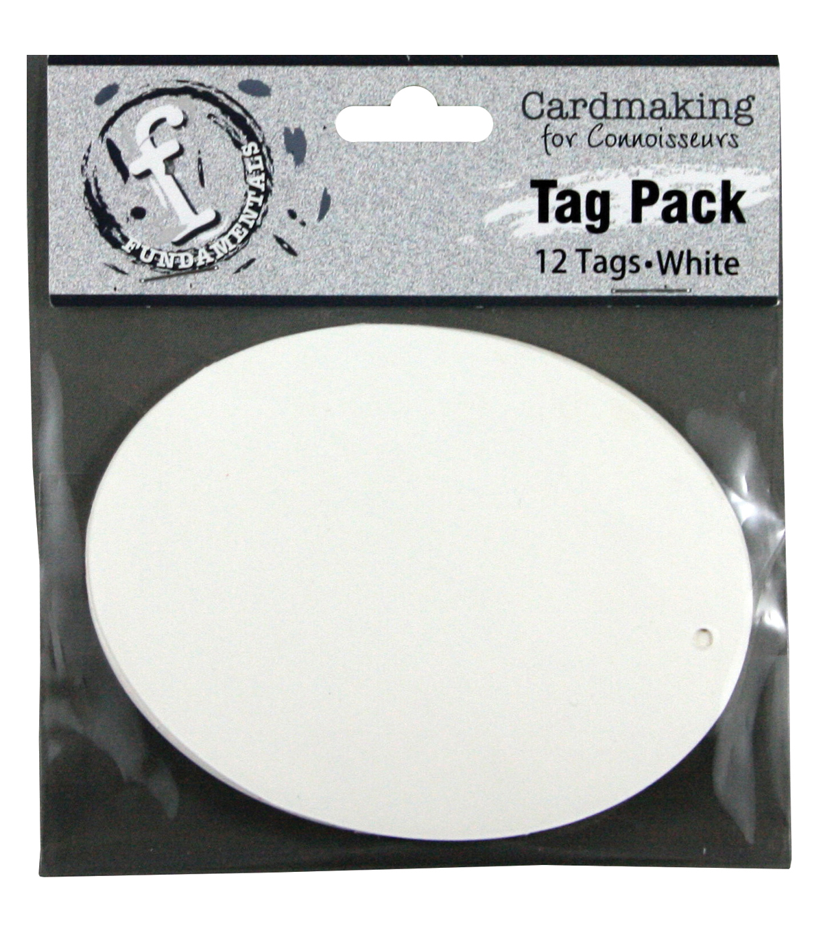 Ruby Rock-It Fundamentals Oval Tags Large
