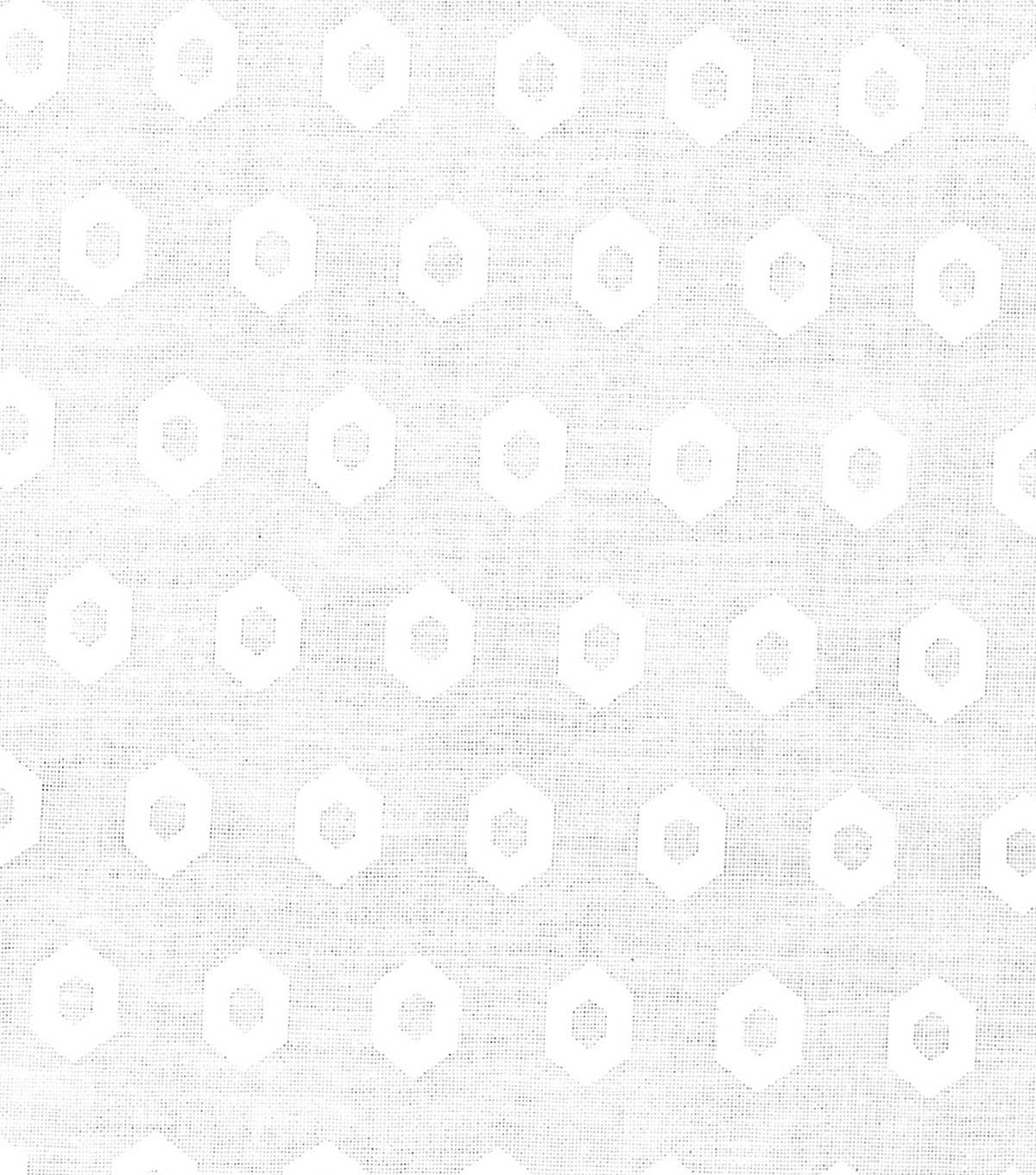Quilter's Showcase™ Fabric 44''-White Geometric