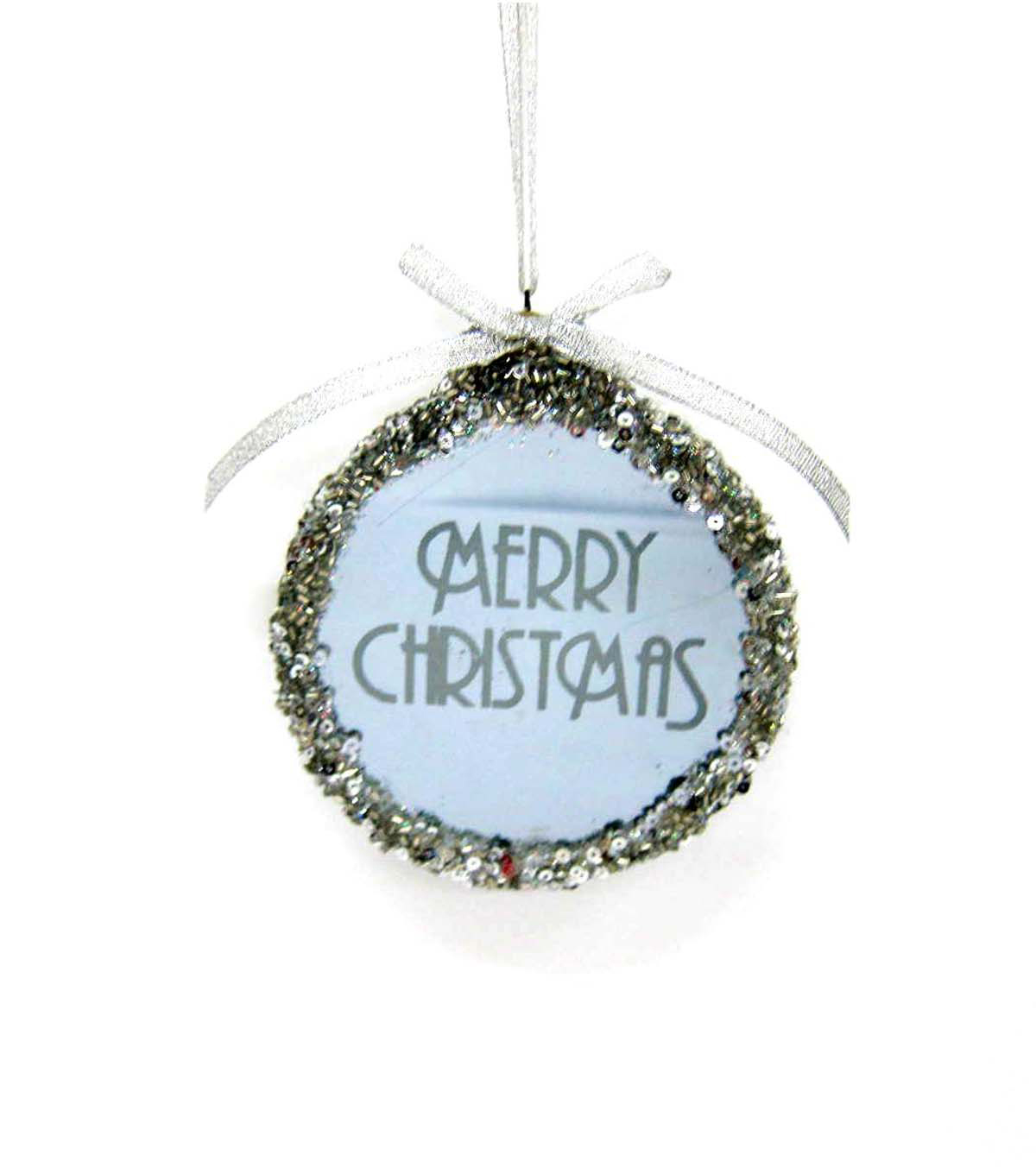 Maker\u0027s Holiday Merry Christmas LED Ornament