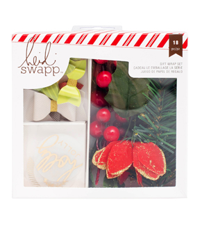 Heidi Swapp Oh What Fun Gift Topper Set