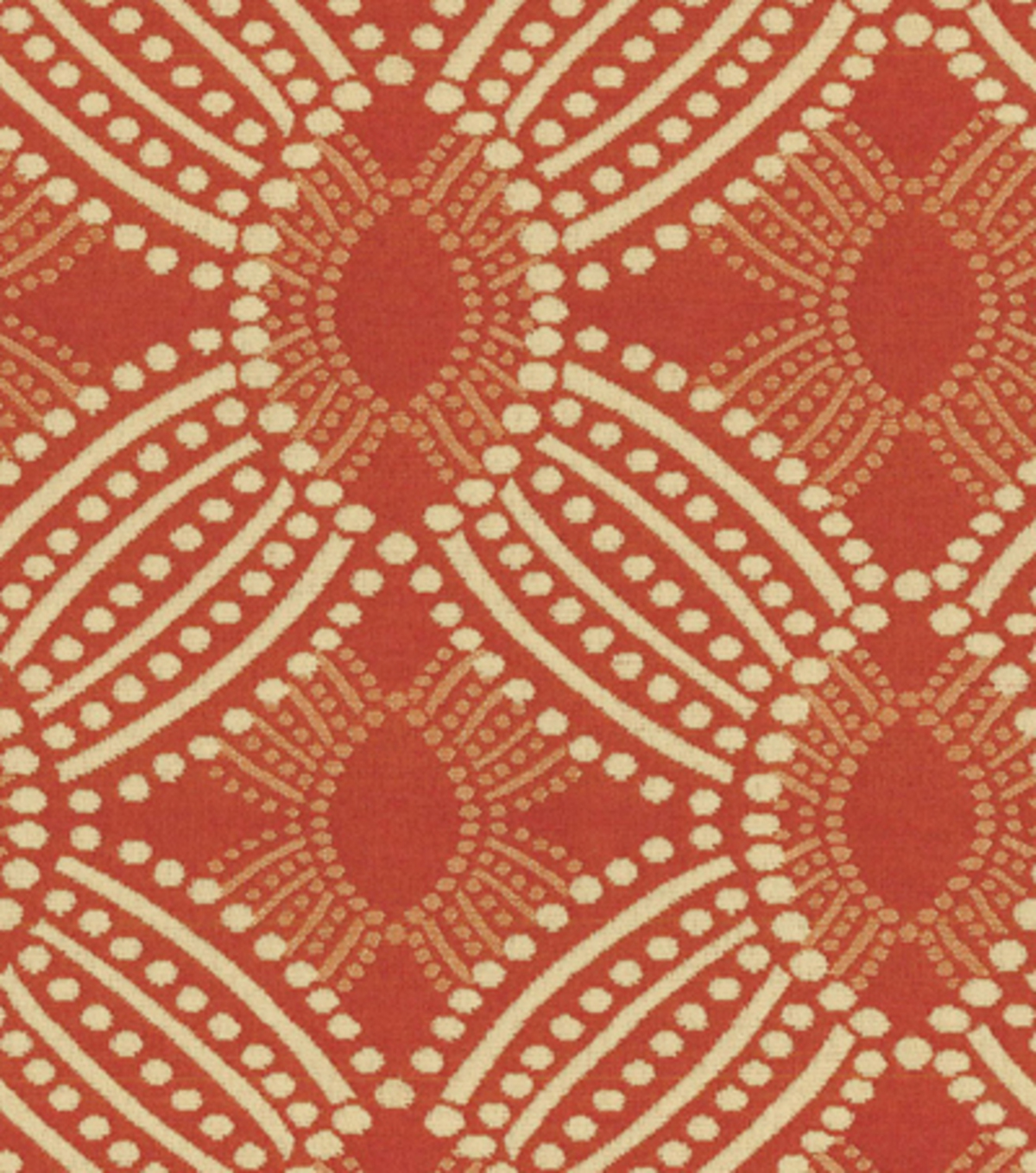 HGTV Home Upholstery Fabric 55\u0022-Time Zone Tomato