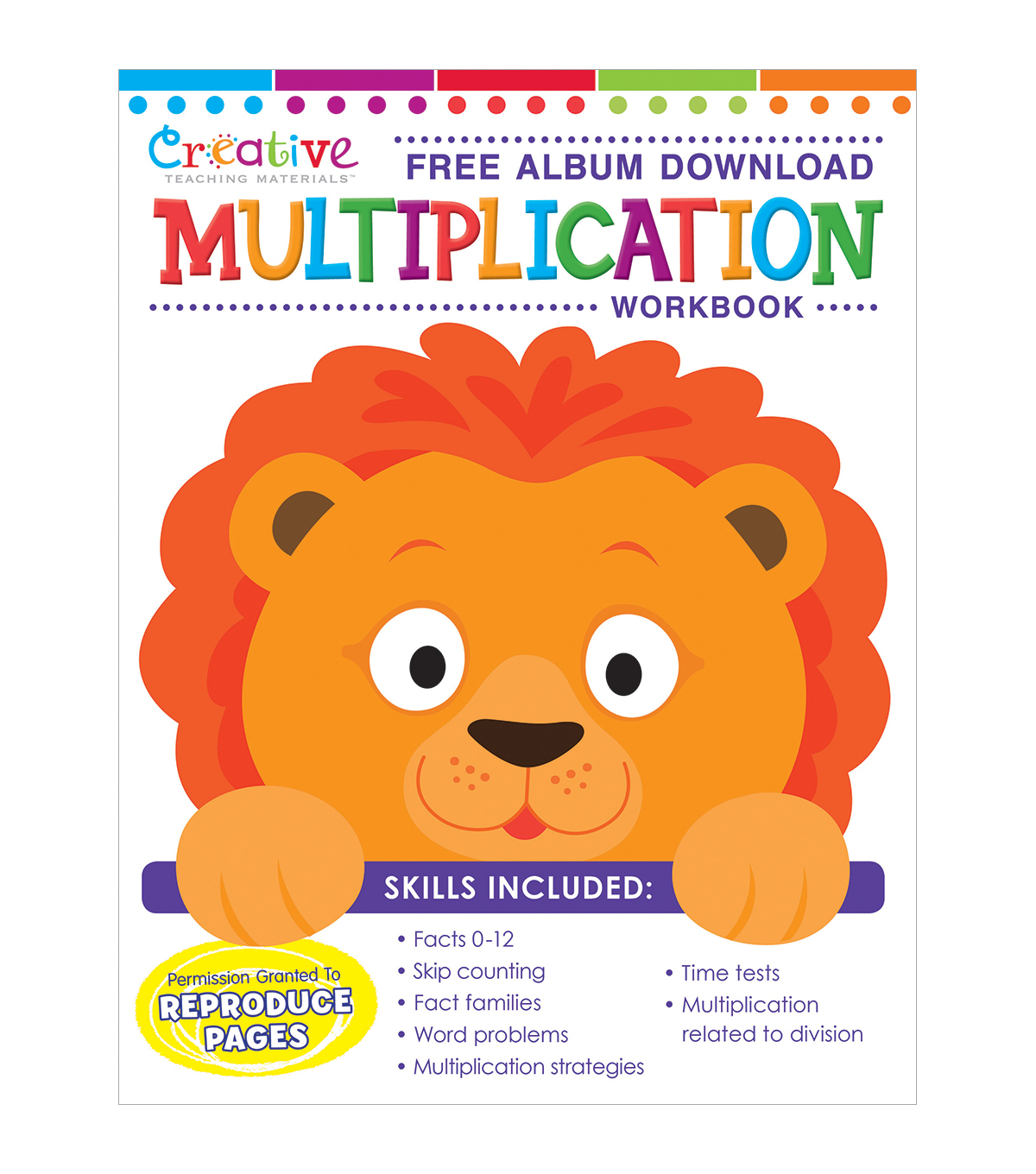 Creative Teaching Materials Workbook-Multiplication