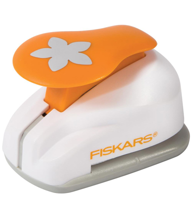 Fiskars Medium Lever Punch-1\u0022 Flower