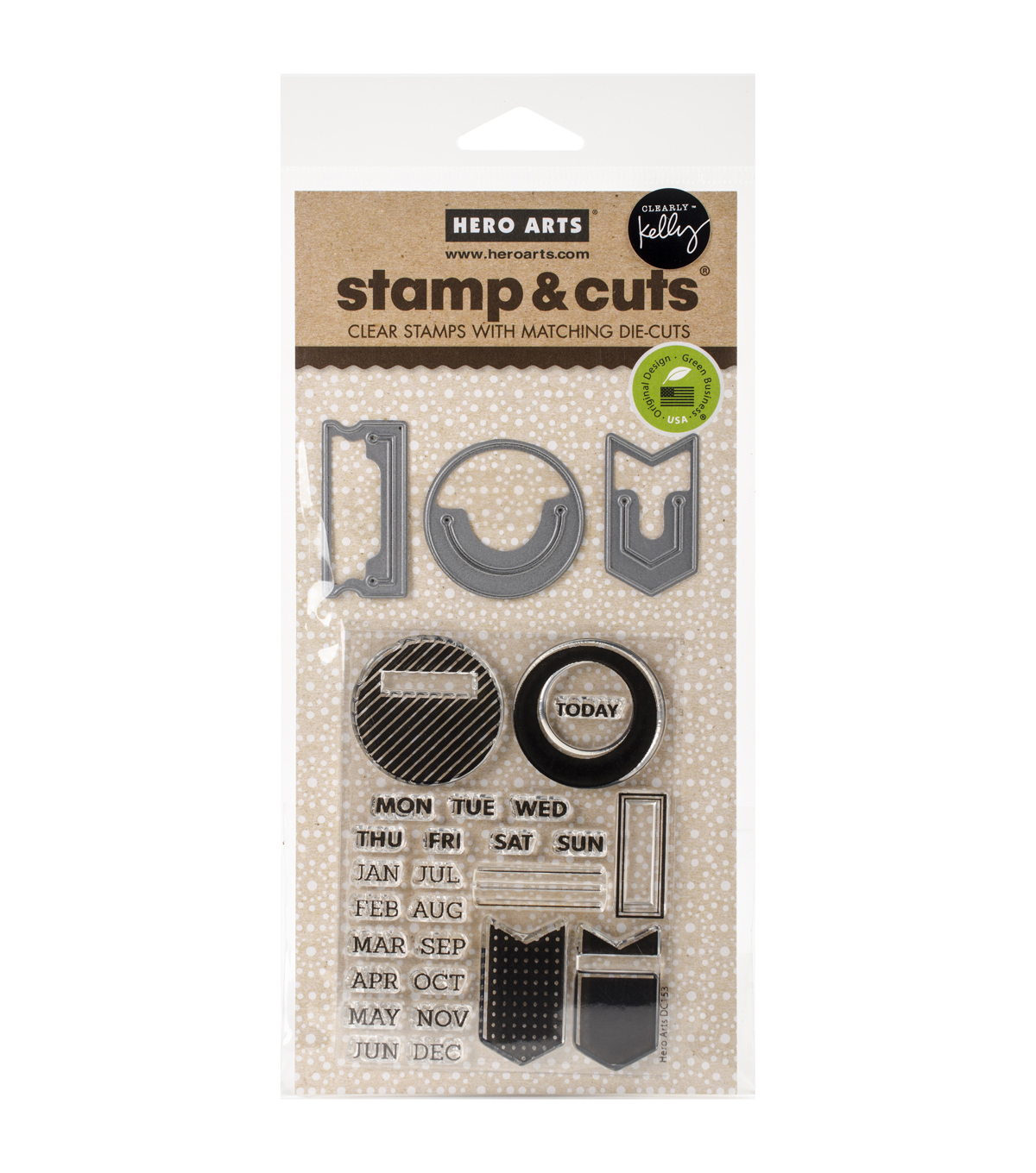 Kelly Purkey Stamp & Cut-Planner Clips