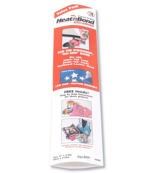 Heat\u0027n Bond Ultra Hold Iron-on Adhesive-17\u0022W x 5yds