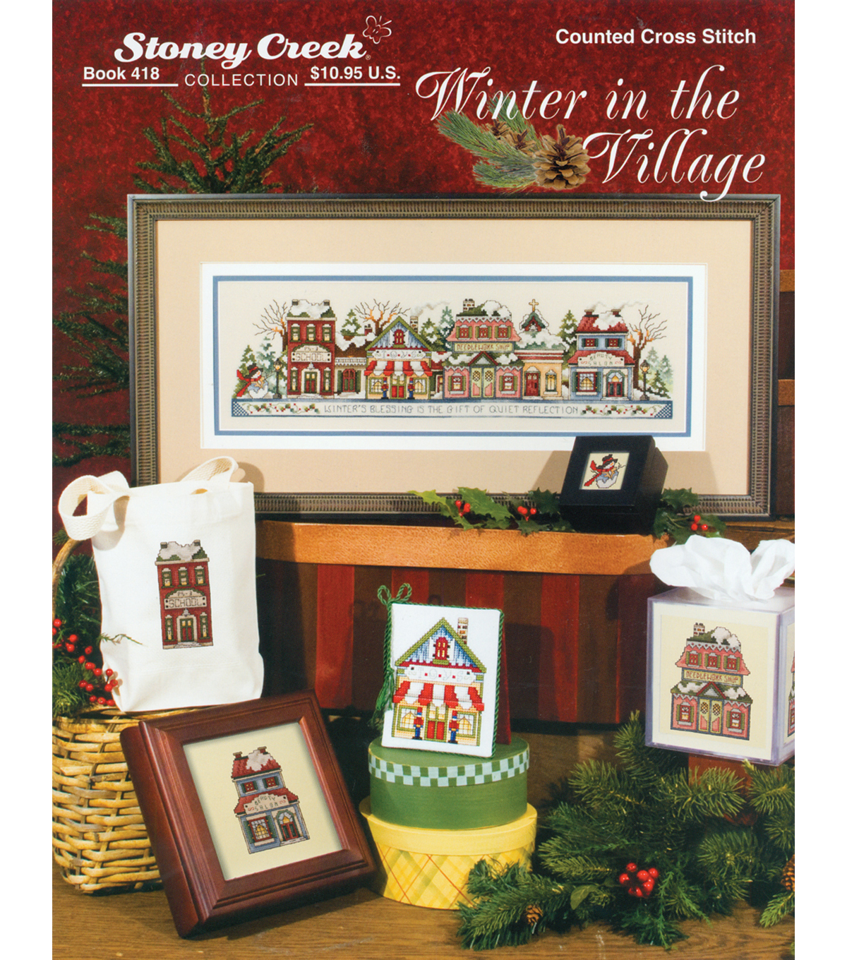 Stoney Creek-Winter In The Village Book
