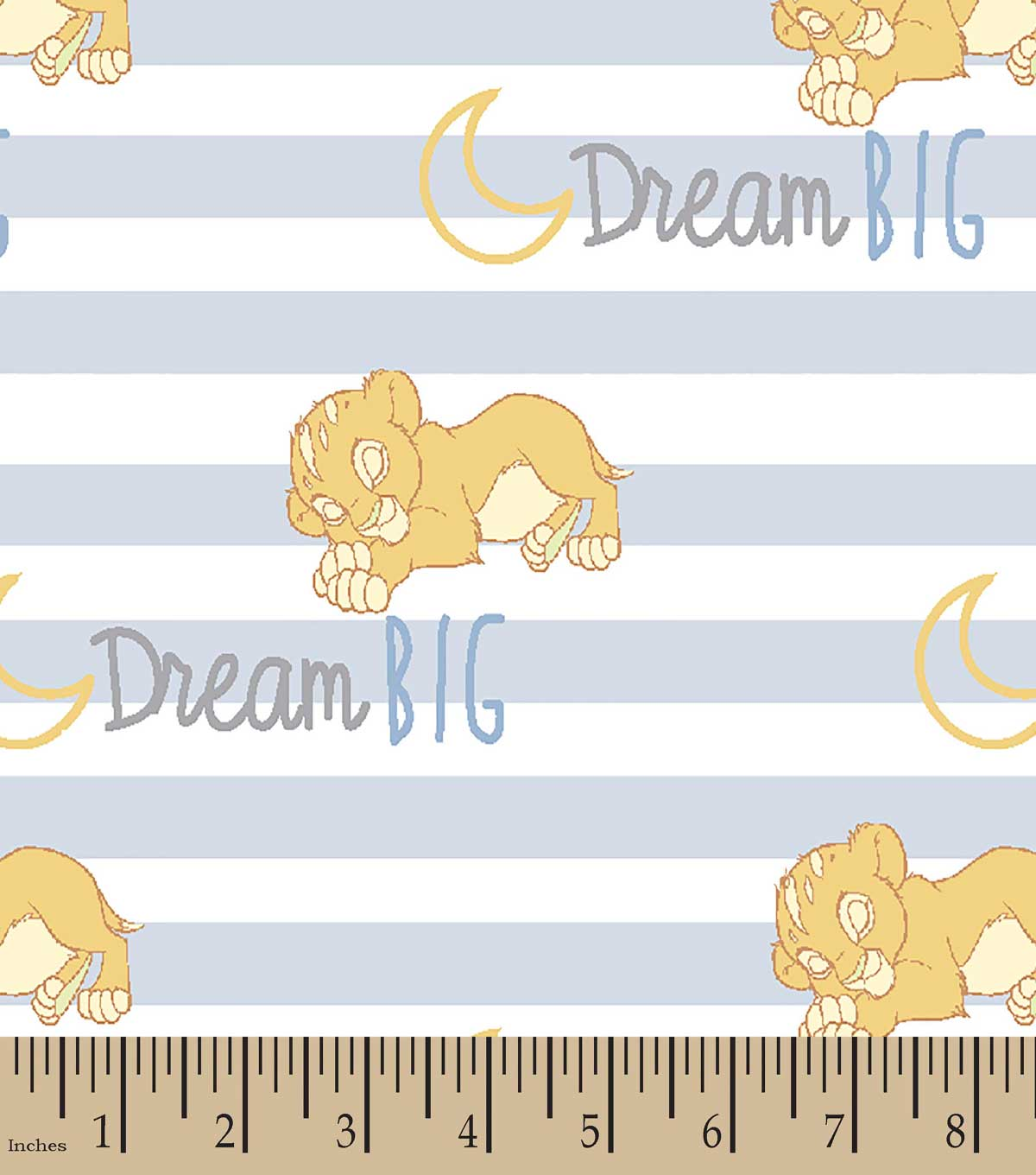 Disney® Goodnight Simba Print Fabric