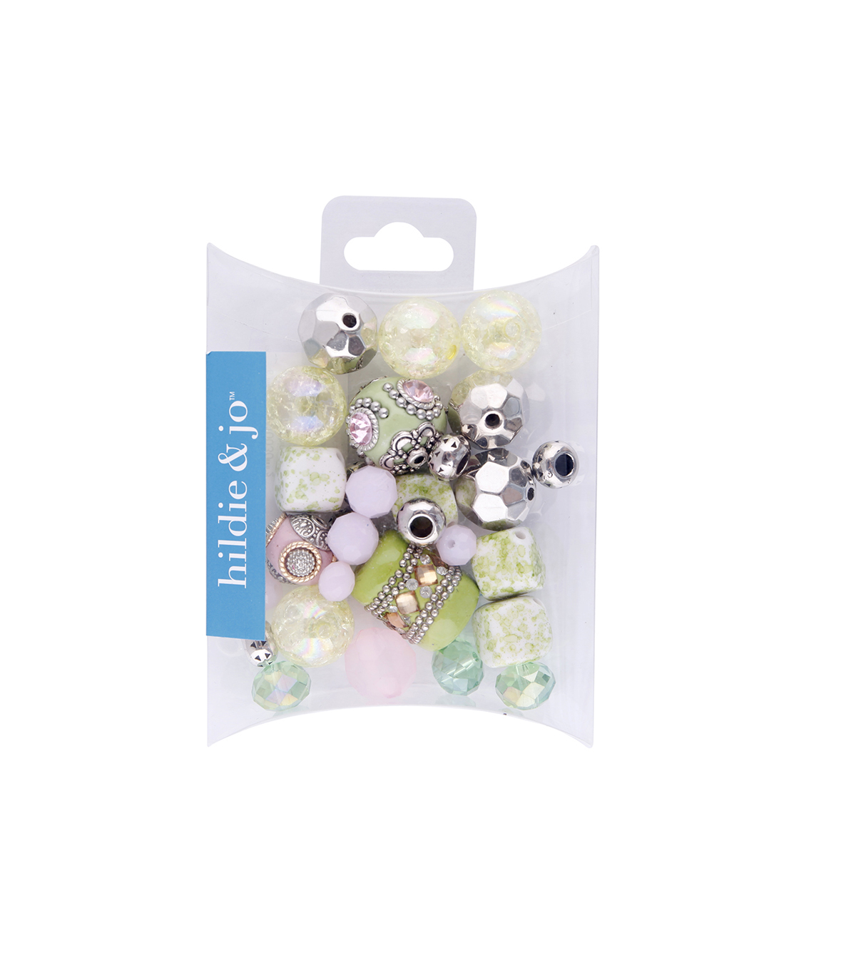 hildie & jo™ Mix Beads-Green & Yellow