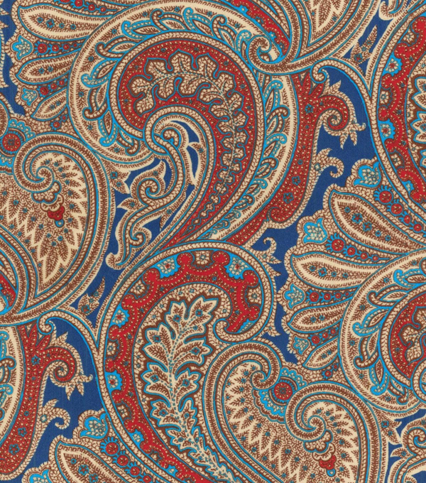 P/K Lifestyles Upholstery Fabric 54\u0022-Vintage Blend/Royal