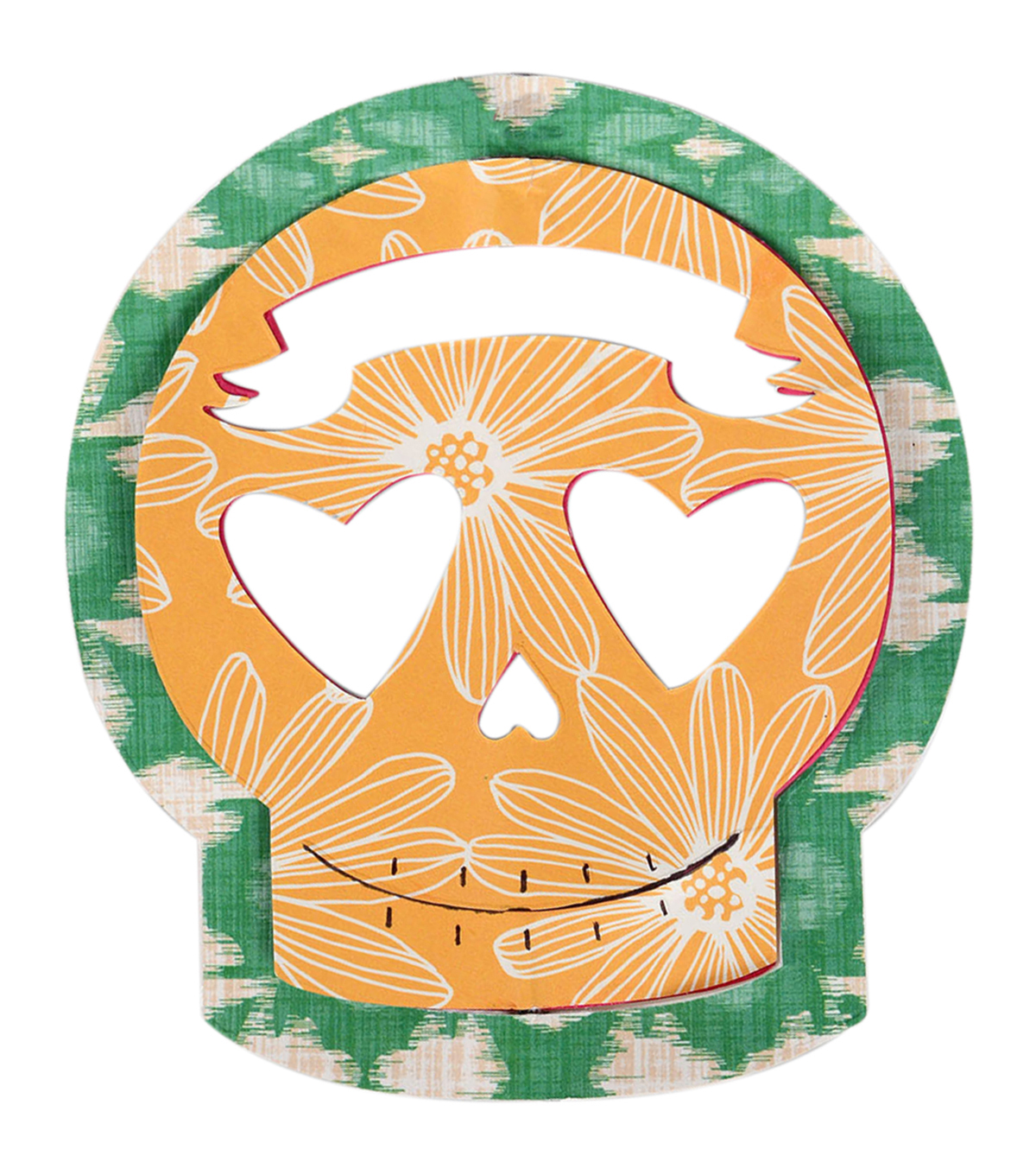 Sizzix® Bigz™ Crafty Chica Die-Day of The Dead Sugar Skull