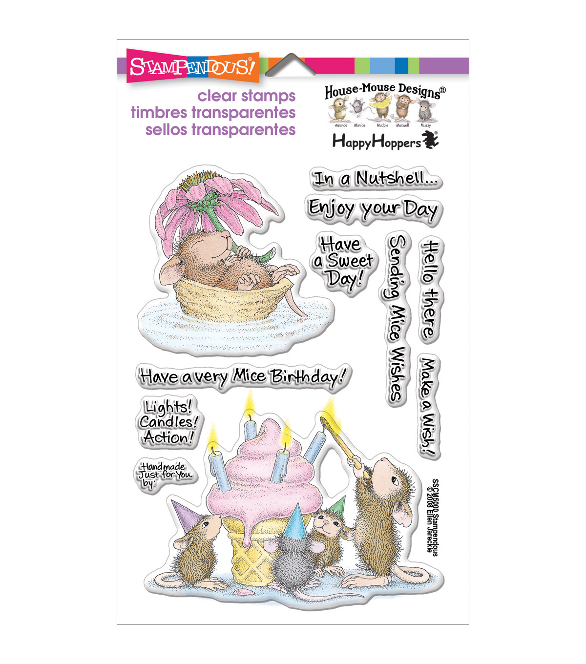 Mice Wish -clear Stamps Stampnd