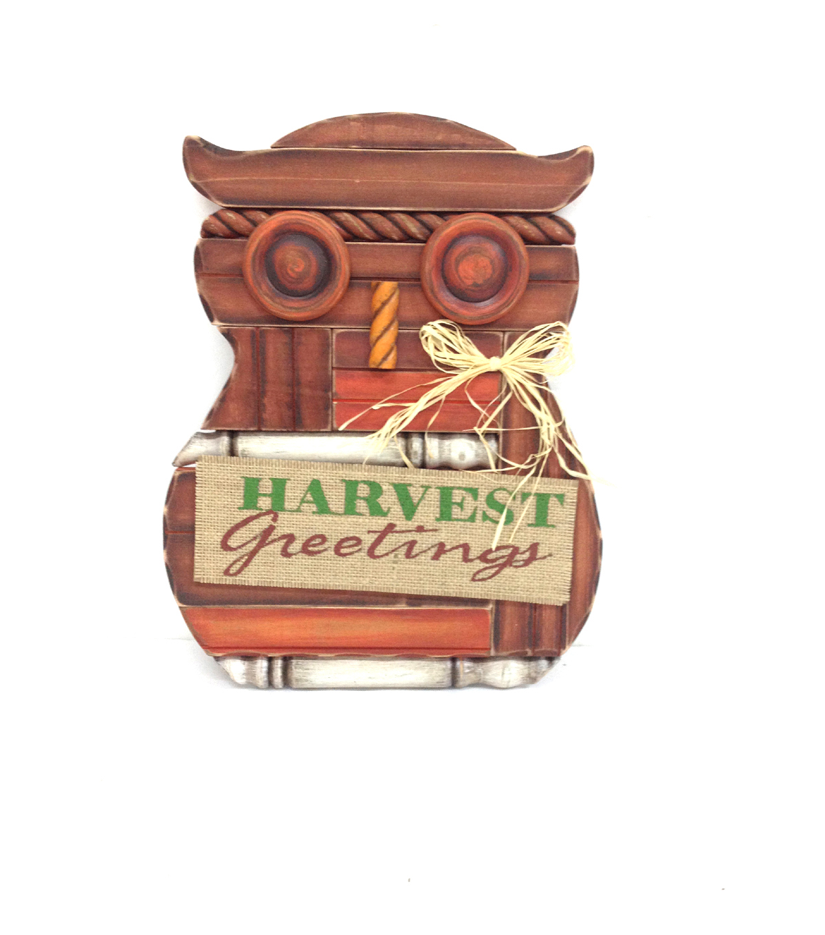 Fall For All Owl Harvest Greetings Wall Decor