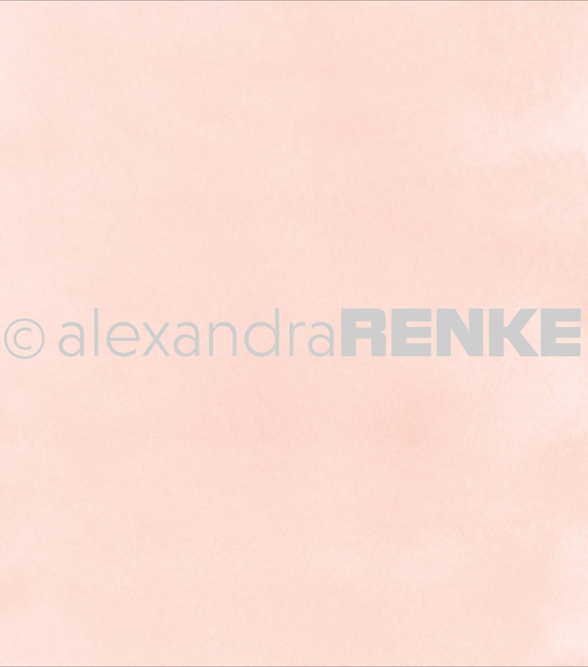 "Alexandra Renke Mimi's Basic Design Paper 12""X12""-Rose Watercolor"