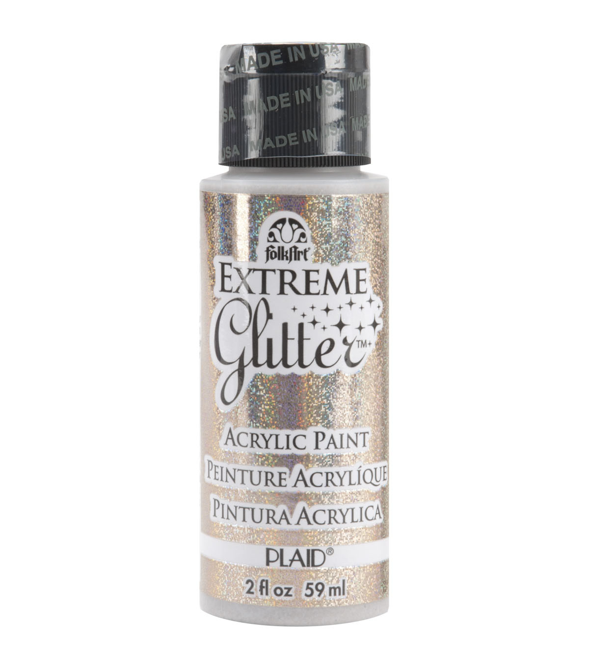 Plaid Folk Art Extreme Glitter Paint 2 Ounces
