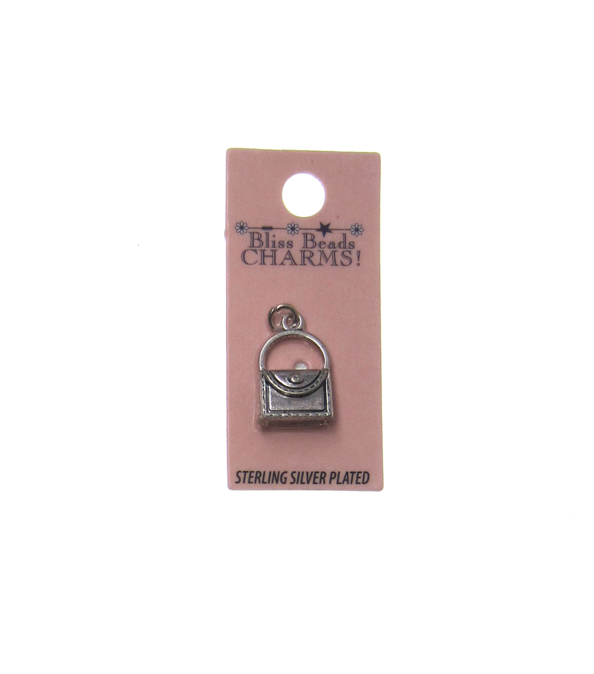 Silver Plated Purse Charm