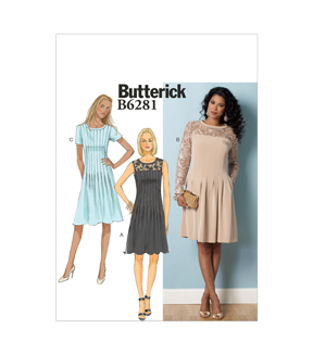 Butterick Misses Dress-B6281