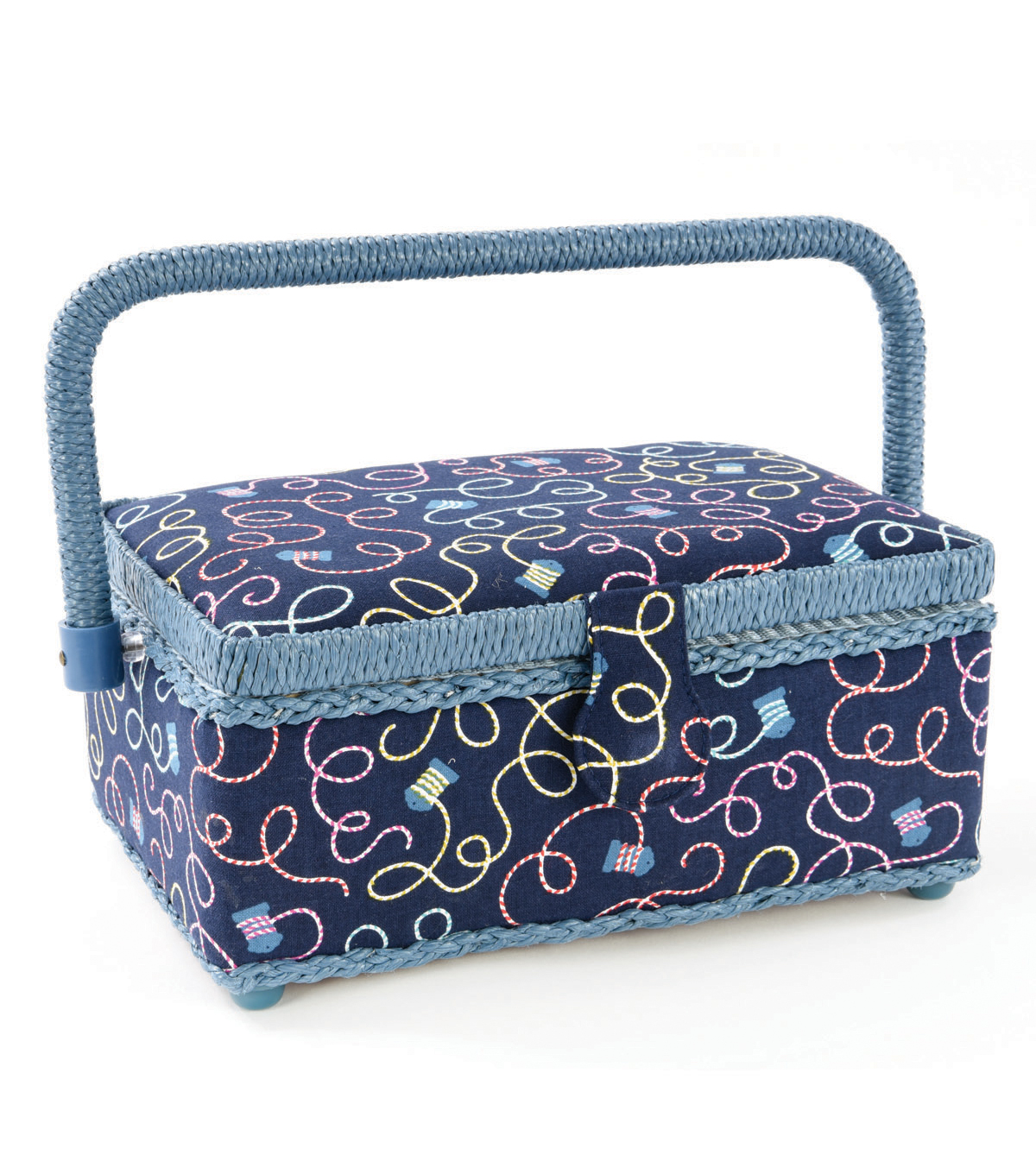 Small Rectangle Sewing Basket-Twine