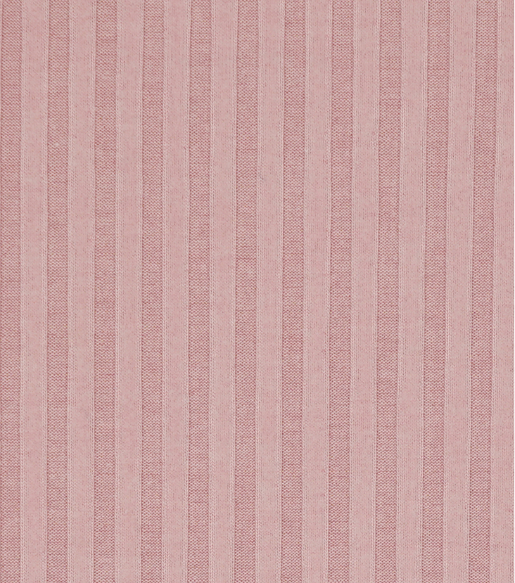 Varsity Club Ribbed Knit Fabric 57\u0022-Blush