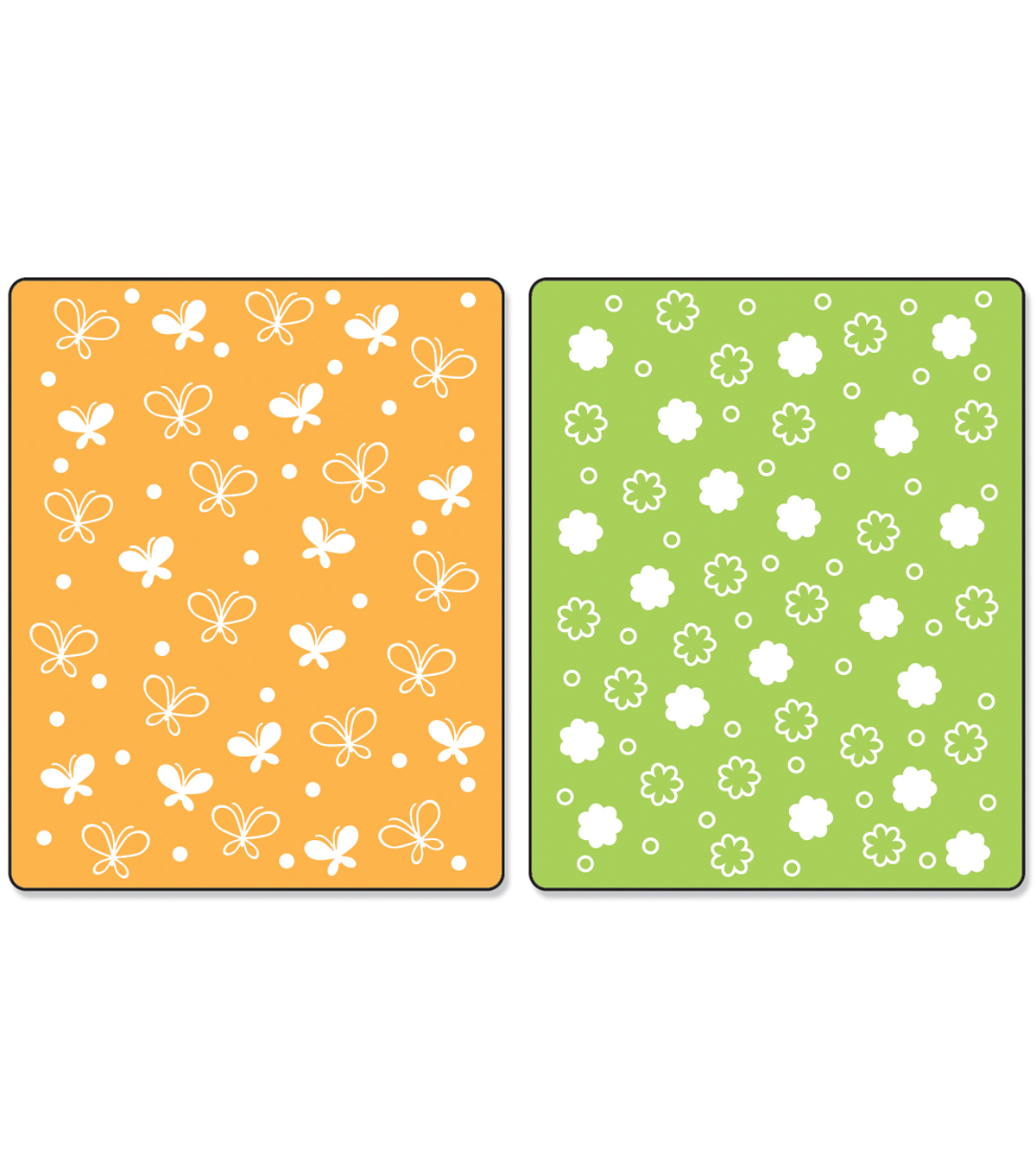 Sizzix™ Textured Impressions Embossing Folder-Butterflies & Flowers