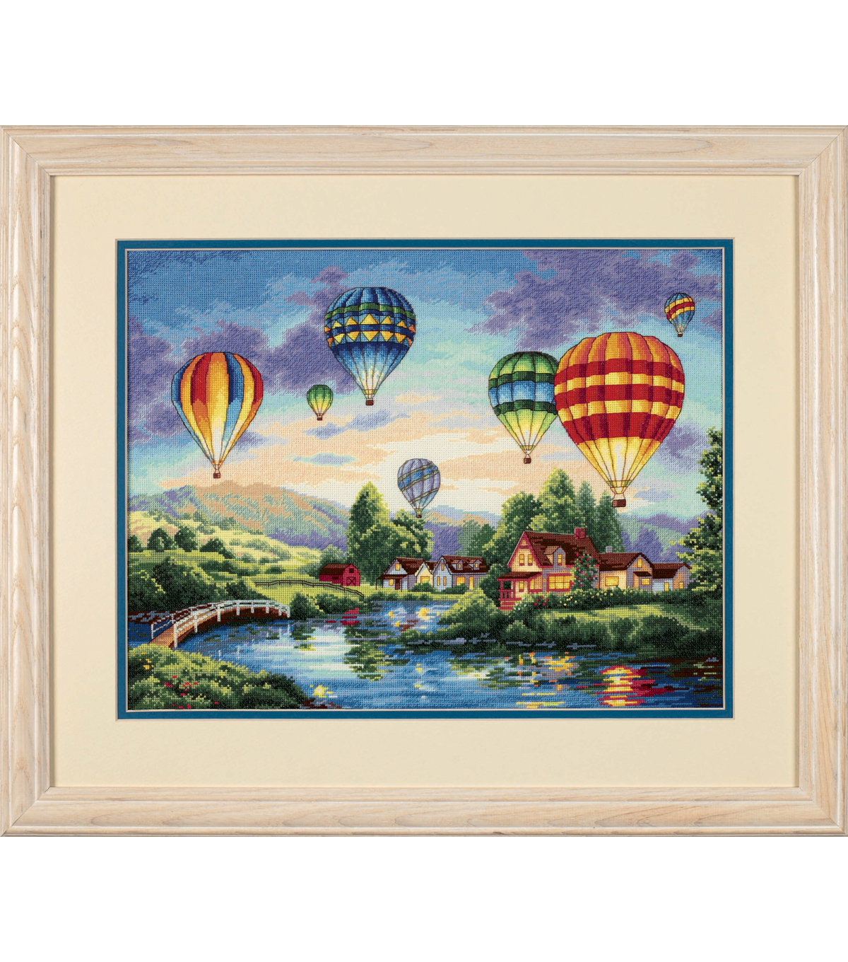 "Dimensions® 16""x12"" Counted Cross Stitch-Balloon Glow"