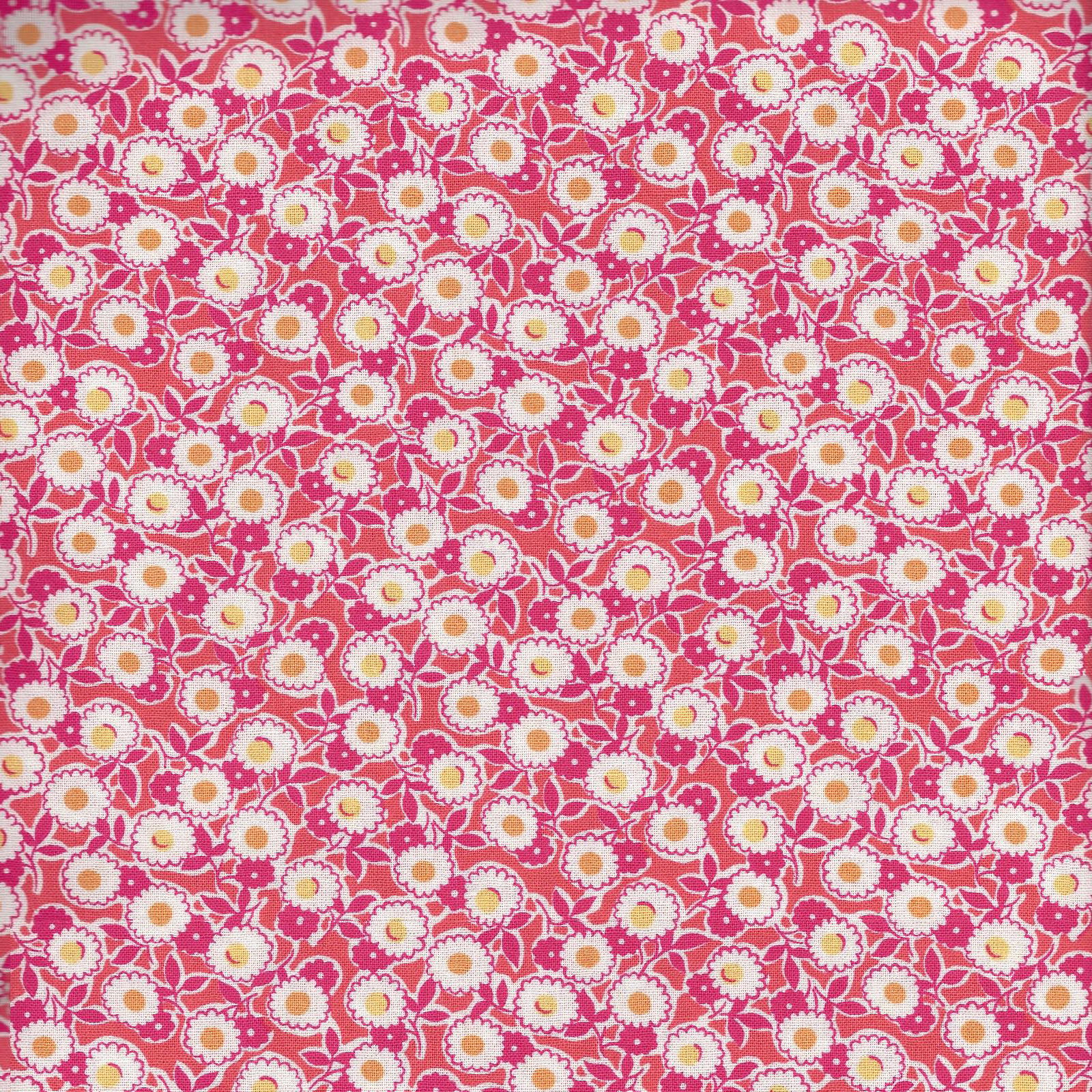 Keepsake Calico™ Cotton Fabric-Mailey Coral