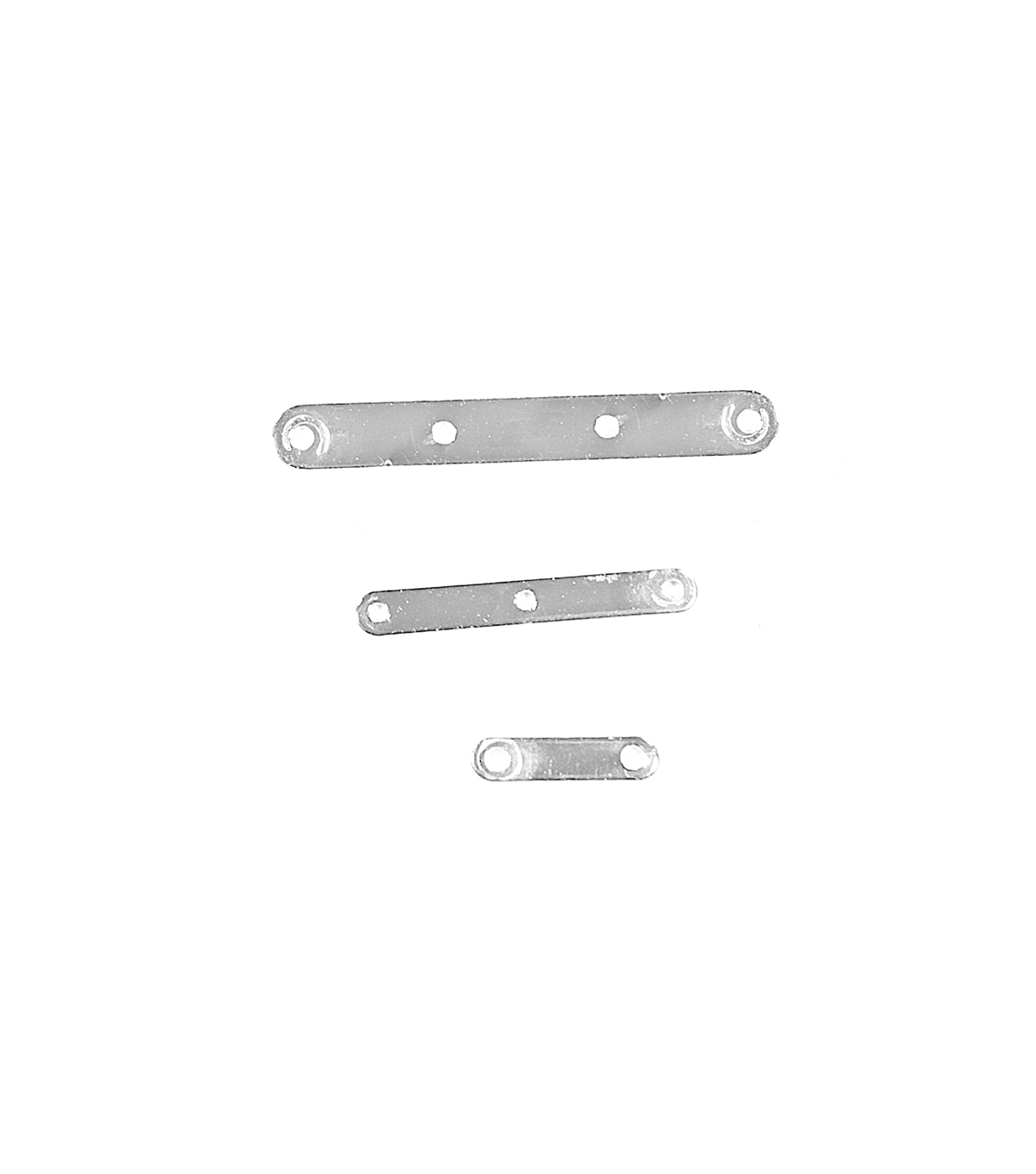 Blue Moon Findings Spacer Bar Metal Multi Pack Plain Shiny Silver