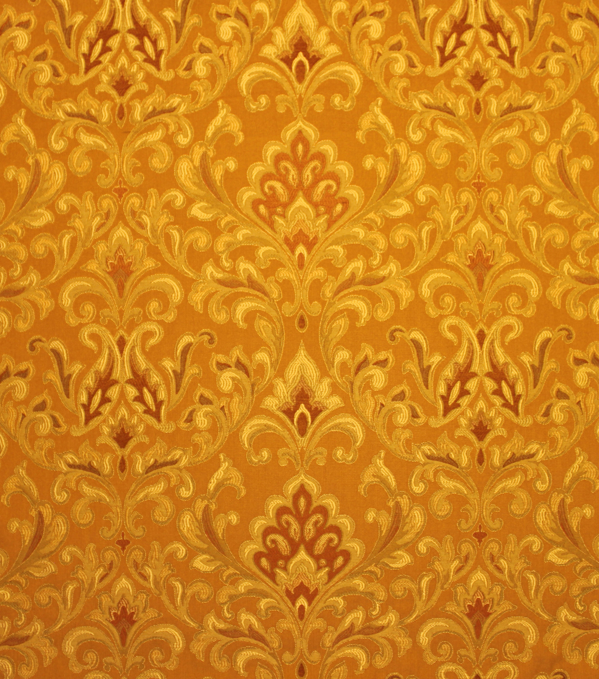 "Home Decor 8""x8"" Fabric Swatch-Upholstery Fabric Barrow M7466 5230 Amber"