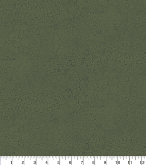 "Keepsake Calico™ Cotton Fabric 43""-Green Crackle"