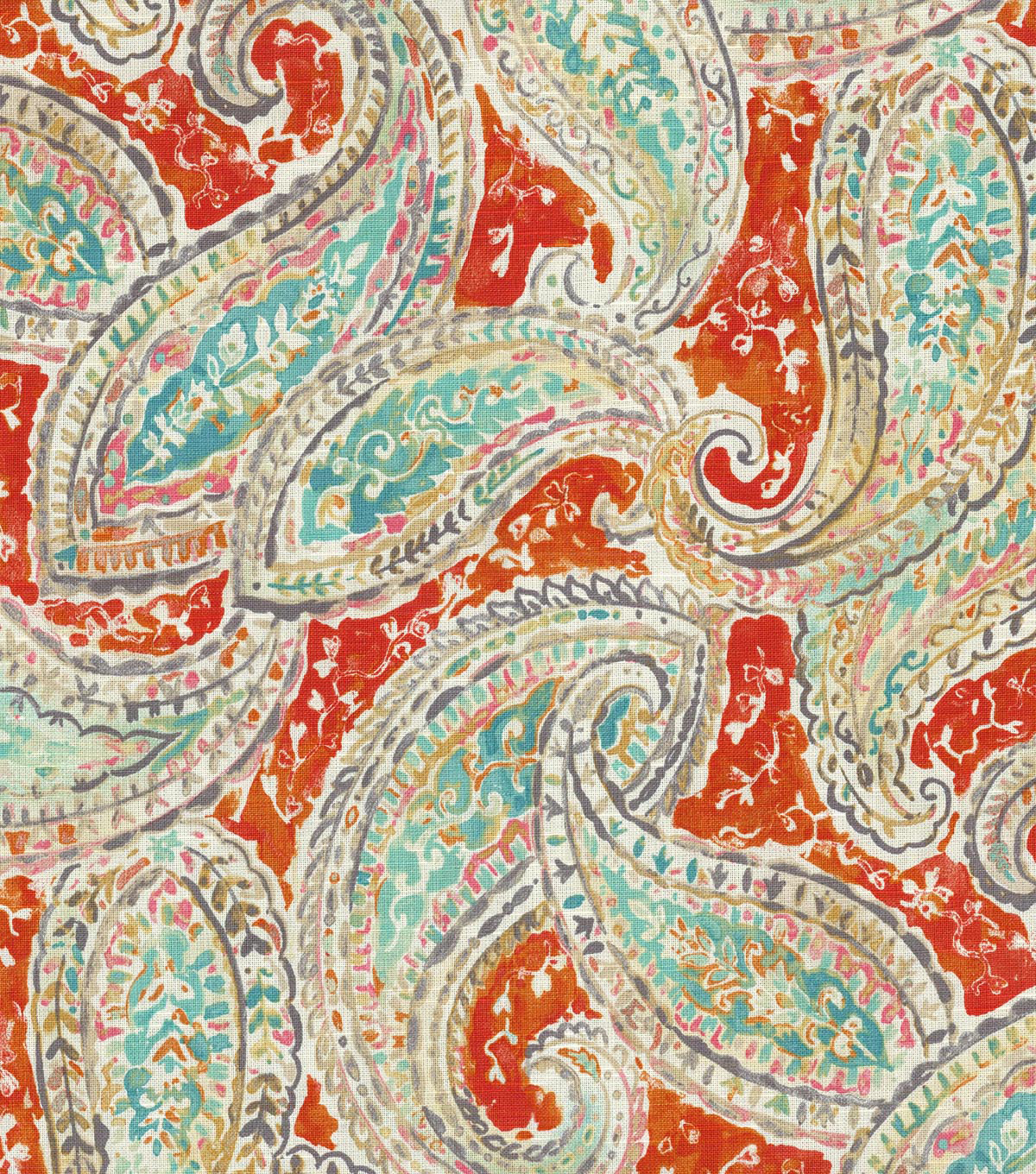 "Kelly Ripa Upholstery Fabric 54""-Bright and Lively Nectar"