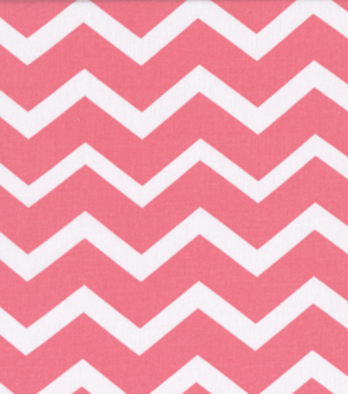 Keepsake Calico™ Cotton Fabric 43\u0022-Coral&White Chevron