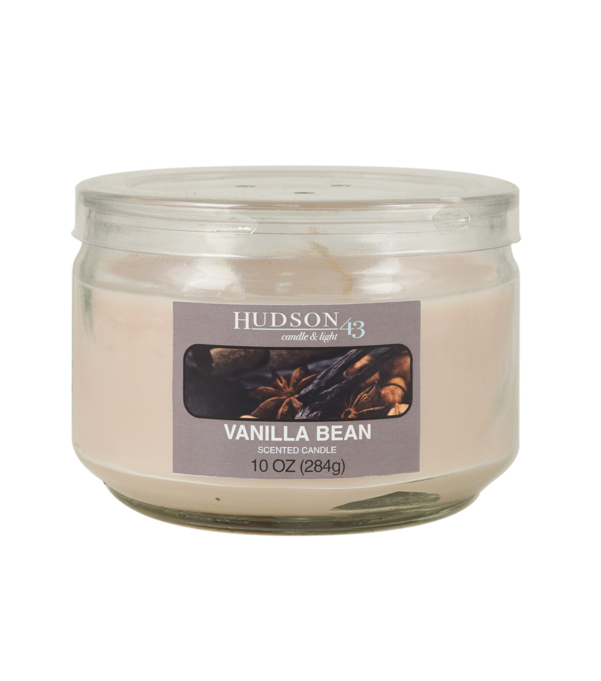 Hudson 43™ Candle & Light Collection 10oz Value Jar Vanilla Cinnamon