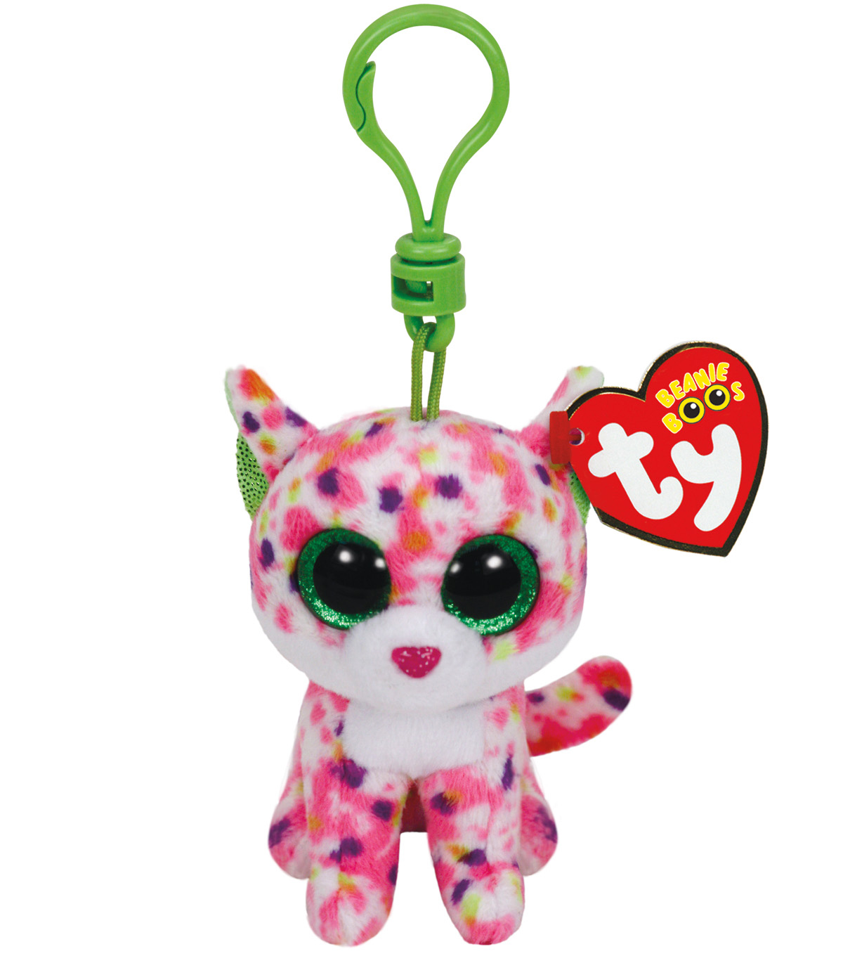 Ty Beanie Boos Sophie the Pink Cat Clip