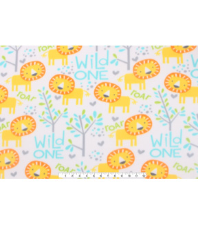 Blizzard Fleece Fabric 59\u0022-Wild One