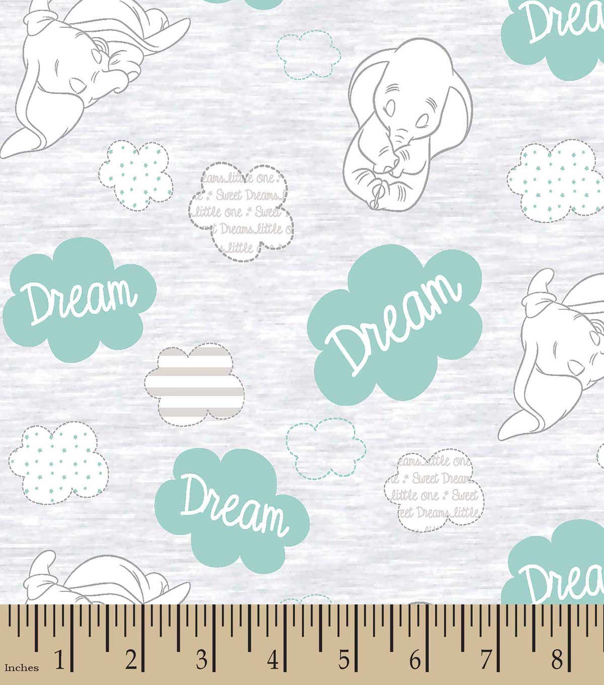 Disney Sweet Dreams Dumbo Print Fabric