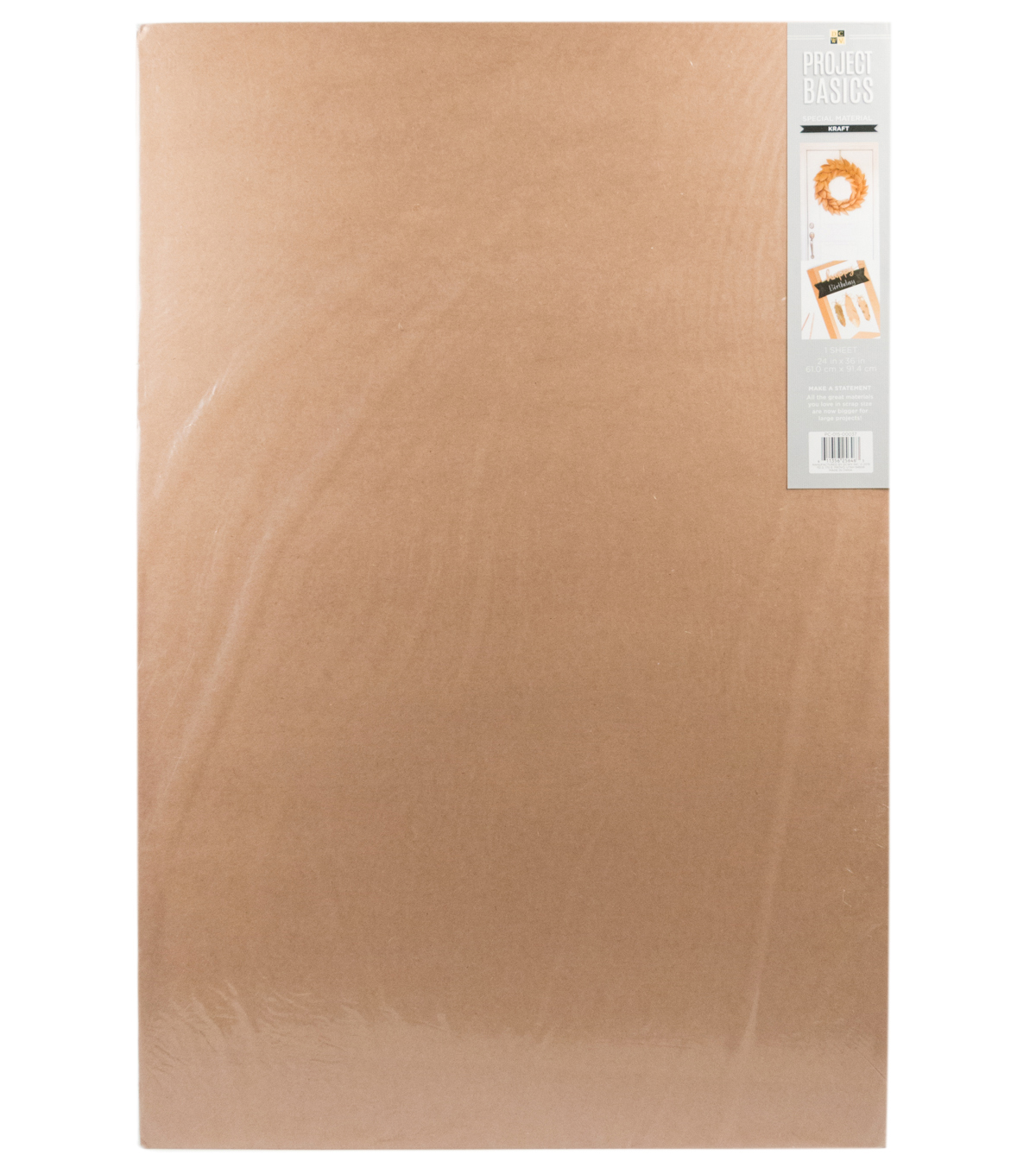 "DCWV Project Basics: 24""x36"" Kraft Sheet"