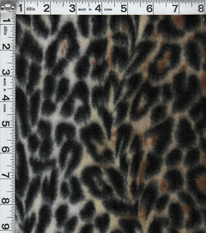 """Leopard Fabric Blizzard Fleece Fabric 58""""leopard  Joann"""