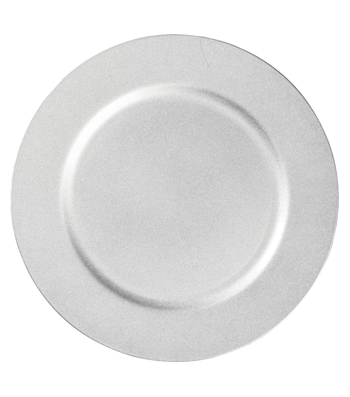 Hudson 43™ Candle & Light Collection 13\u0022 Decorative Plate-Silver