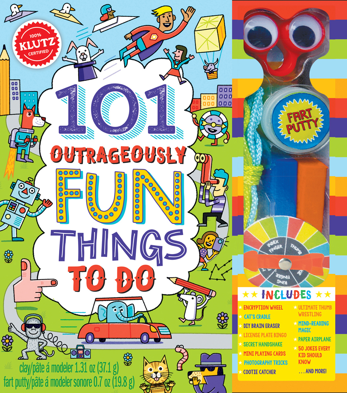 101 Outrageously Fun Things To Do Kit