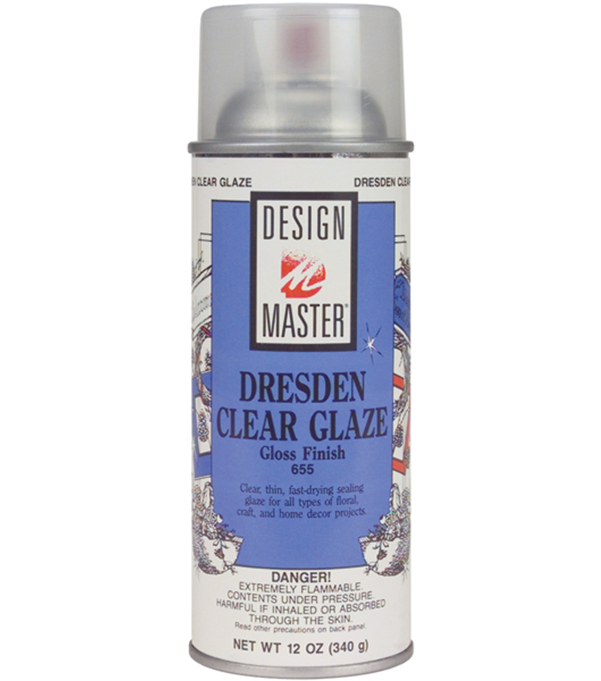 Design Master-Clear, Glue, Floral Cleaner & Surface Sealer