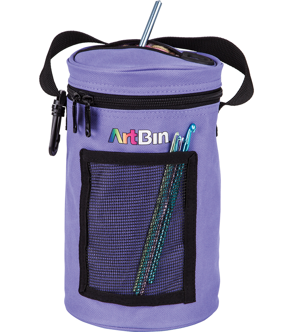 ArtBin Mini Yarn Drum 5.7\u0022X9.5\u0022-Periwinkle