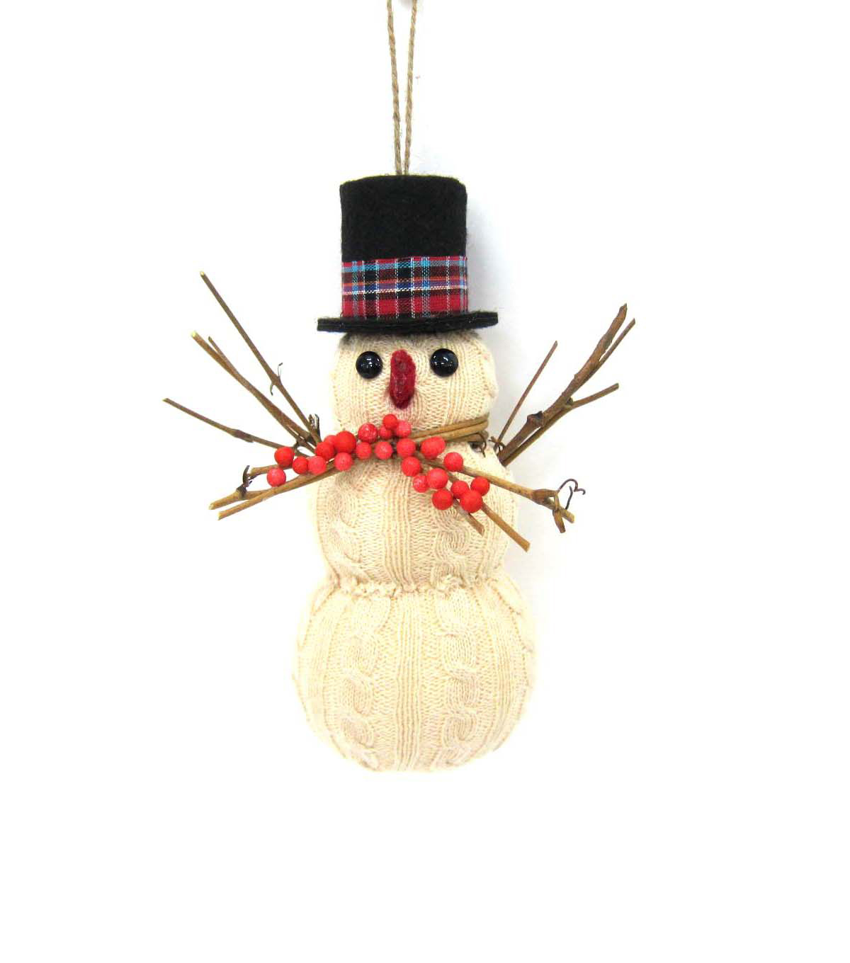 Maker's Holiday Snowman Ornament