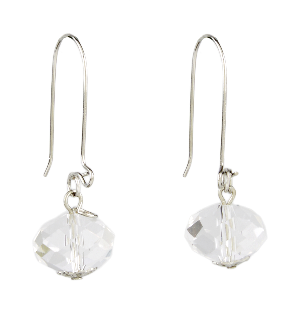 A-wire Drop Earring Crystal