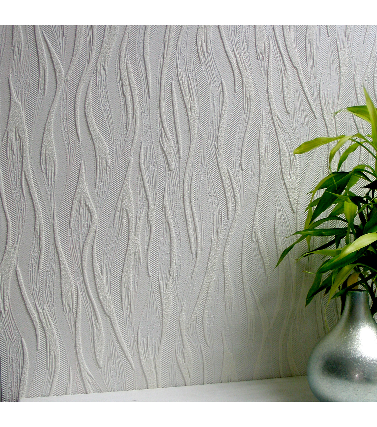 Caiger Paintable Textured Vinyl Wallpaper Sample