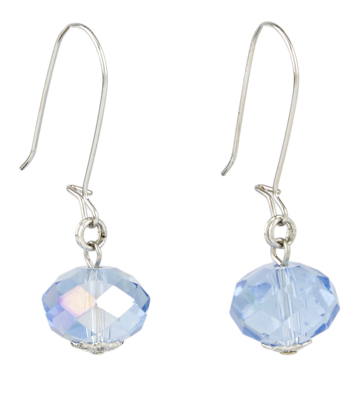 A-wire Drop Earring Blue