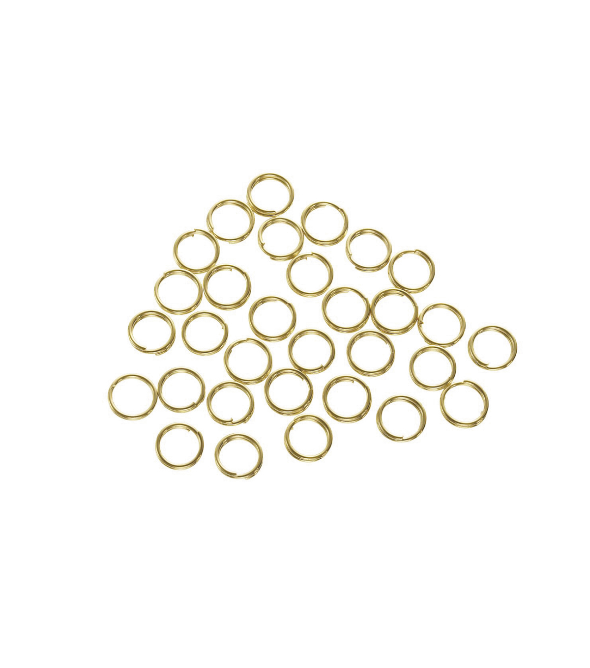6mm Brass Double Ring Gold Finish