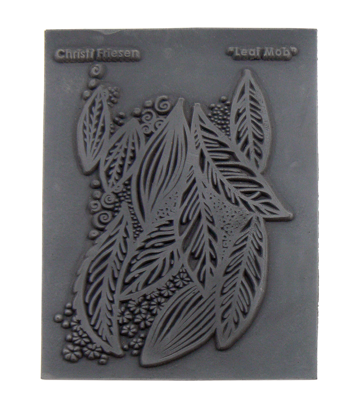 Great Create Christi Friesen Leaf Mob Texture Stamp