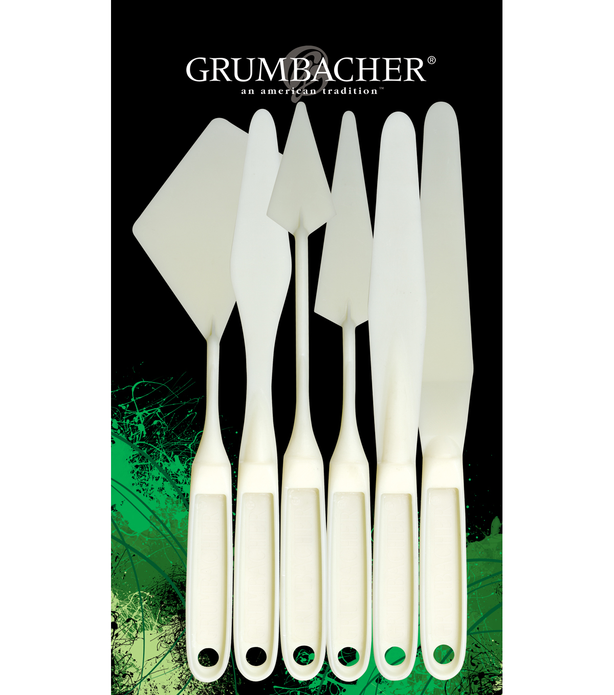 Grumbacher Palette Knife Set-6PK